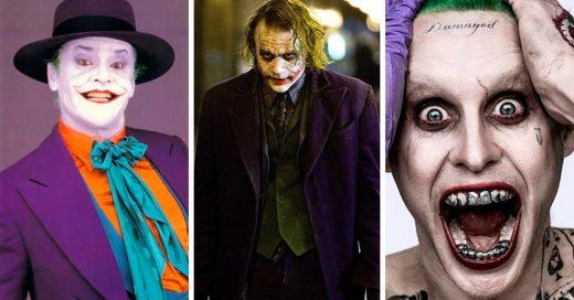 Este video nos muestra la evolución de The Joker