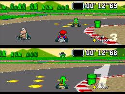 Super Mario Kart Super Nintendo (SNES, Famicom)