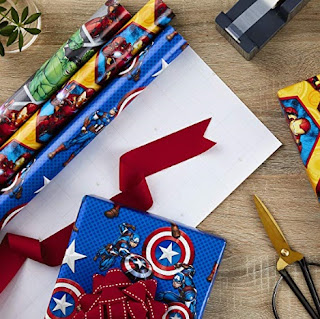 Click here to purchase Avengers Wrapping Paper Set at Amazon!