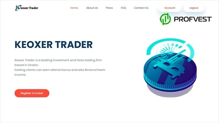Keoxer Trader обзор и отзывы HYIP-проекта