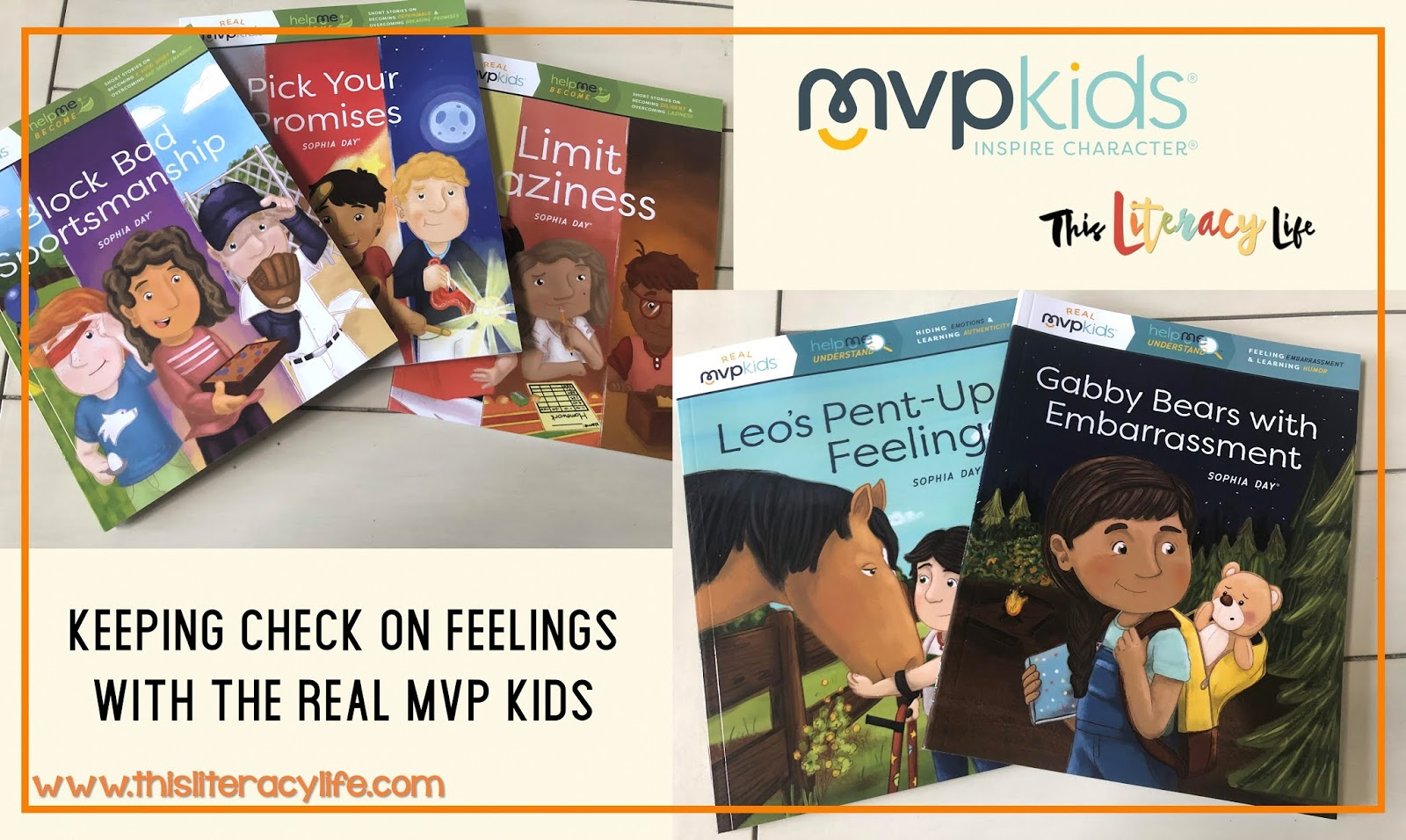 The Real MVP Kids series of books helps so many children learn important skills for getting along in the world. These books are perfect for parents and educators!