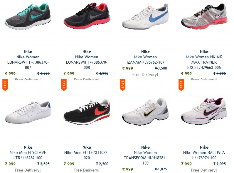 83c98600190 Pay Rs 999 for Nike