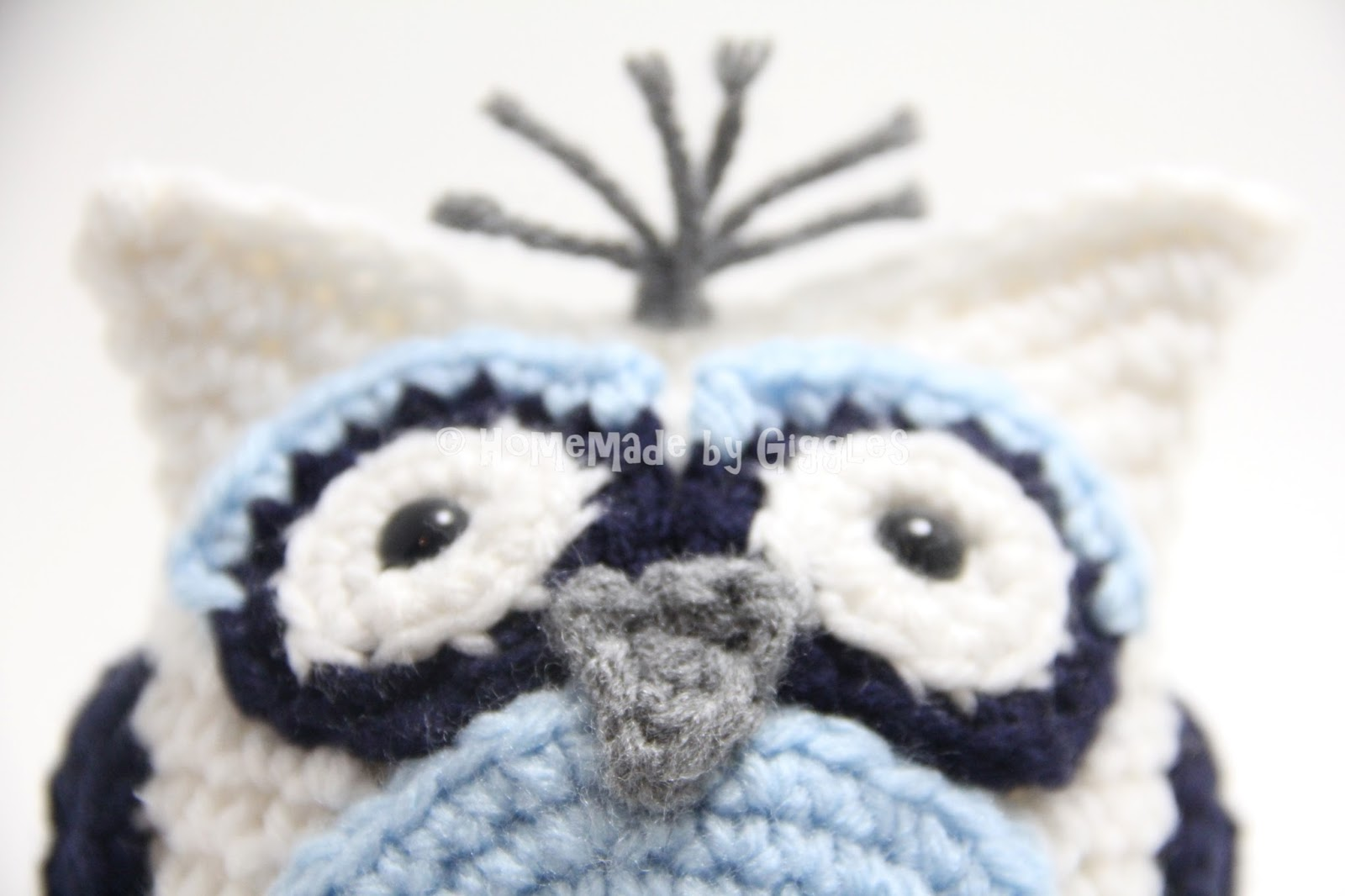 Amigurumi Owl Free Pattern : Homemade by giggles: bean bag owl free crochet pattern!