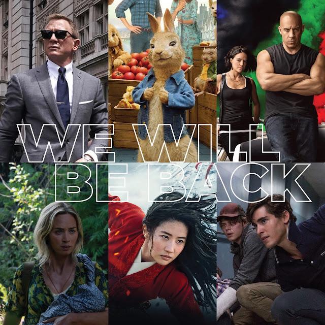 11 Senarai Filem Antarabangsa Di Tangguhkan Tayangan Disebabkan COVID-19