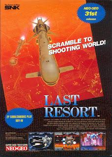 Last Resort ( Arcade )