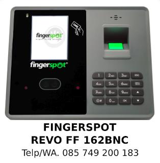 Penyedia Fingerprint Fingerspot Revo FF 162 BNC Murah Original