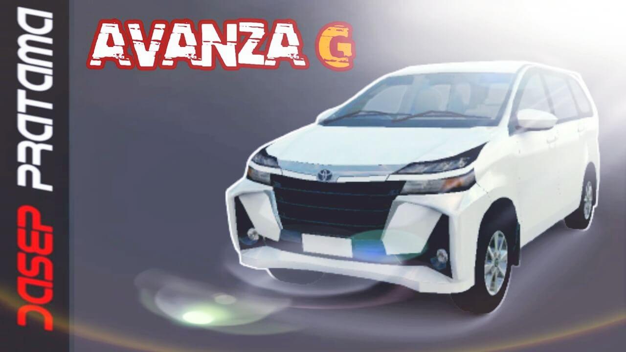 Mod Bussid Toyota Avanza G
