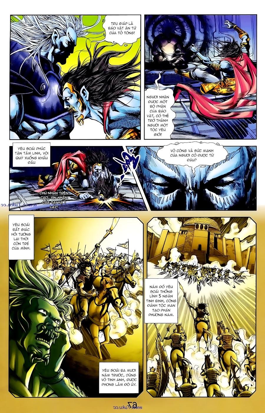 Cơ Phát Khai Chu Bản chapter 101 trang 4