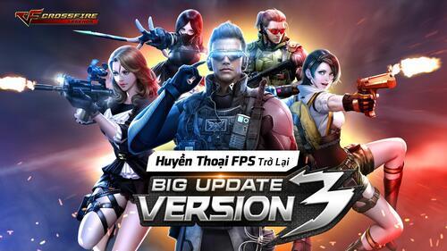 Crossfire Legends – trò chơi huyền thoại mobile