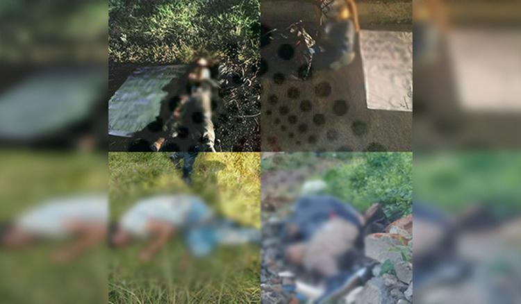 Caen como moscas, Localizan a 5 torturados, maniatados y ejecutados junto a advertencia del CJNG en varios puntos de Morelia, Michoacán