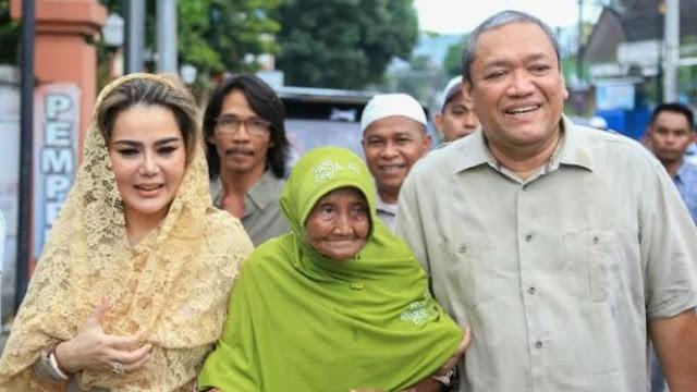 Bantah Dikasih 500 Ribu, Nenek yang Dipeluk Prabowo di NTB Minta Maaf sampai Menangis