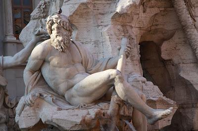 elioarte Roma Piazza Navona  Il Gange