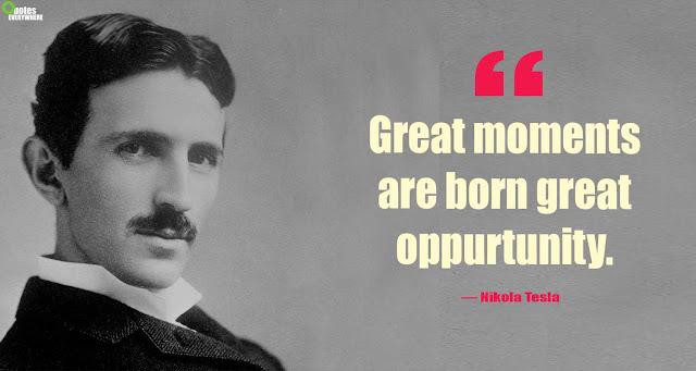 Nikola Tesla Quotes On Success
