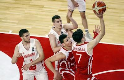 FIBA U17 World Cup Türkiye - Karadağ Mustafa Kurtuldum