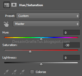 Pengaturan-hue-and-saturation-untuk-matte-effect-di-photoshop