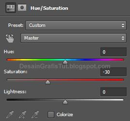 Pengaturan-hue-and-saturation-untuk-matte-effect-di-photoshop