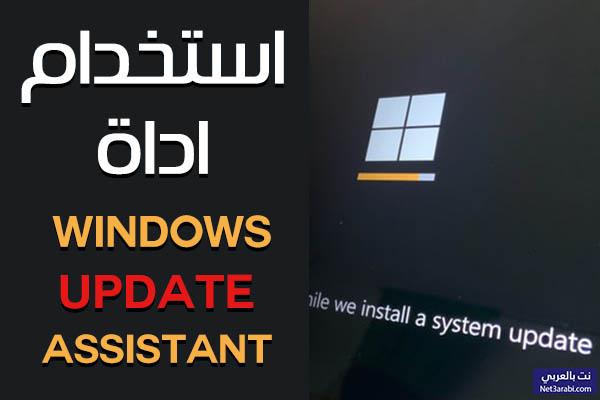 تحميل اداة Windows 10 Update Assistant لترقية الويندوز وكيفية الاستخدام