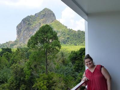 Vistas desde hotel Mandawee Resort, Krabi, Tailandia, La vuelta al mundo de Asun y Ricardo, vuelta al mundo, round the world, mundoporlibre.com