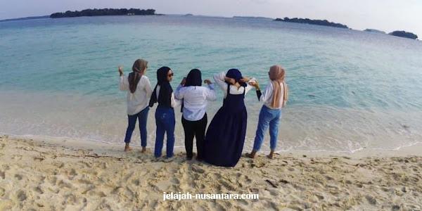 wisata pantai private trip pulau harapan