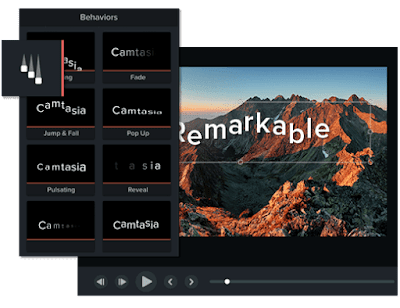 Camtasia Screen Recorder and Video Editor for Mac