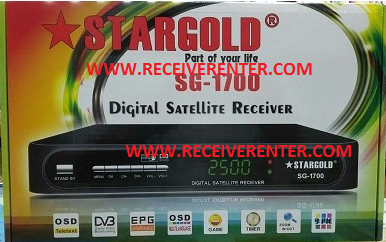 STARGOLD SG-1700 MPEG2 RECEIVER BISS KEY OPTION