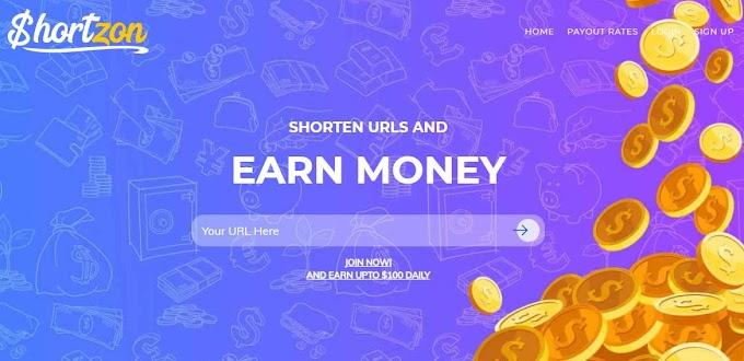 Hướng dẫn kiếm tiền rút gọn link từ trang shortzon.com