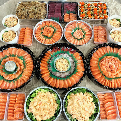 Salmon HQ Sushi Overload