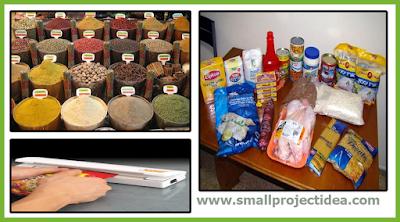 مشروع تعبئة وتغليف المواد الغذائية + دراسة جدوي