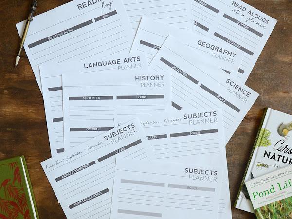 Free Printable Home School Planner