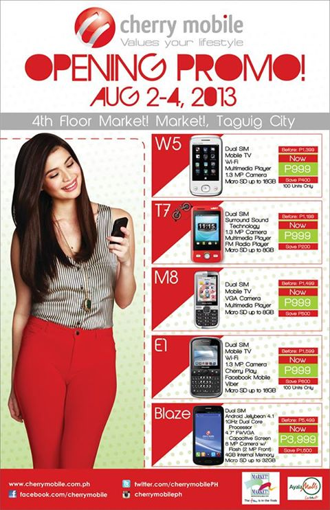 Cherry Mobile Tablets Price List in the Philippines September 2018