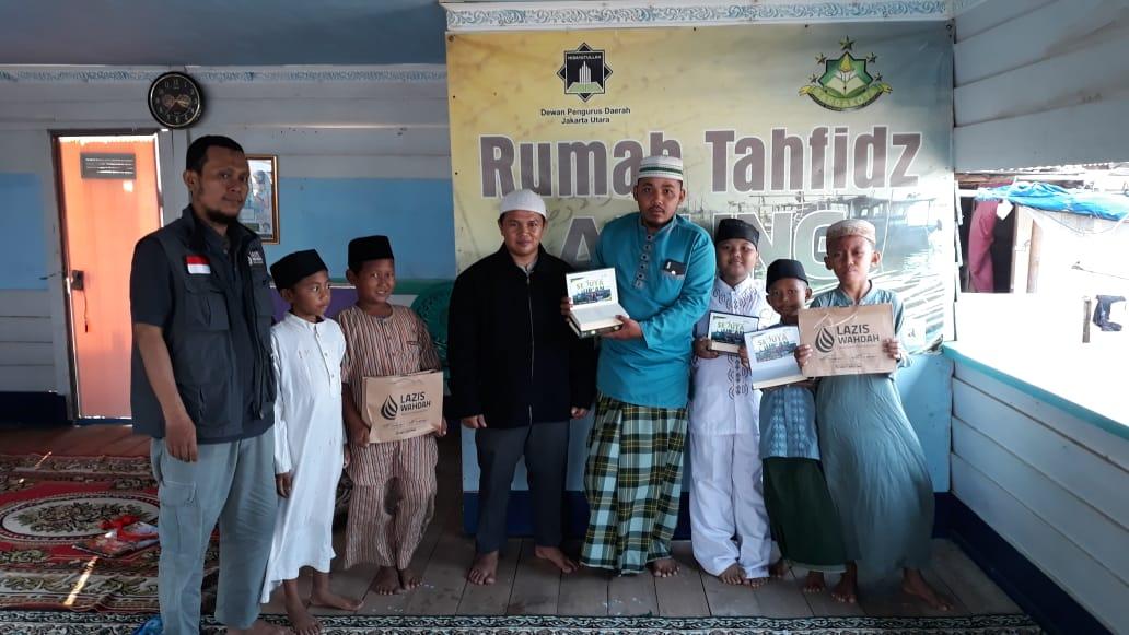 Ayo Bantu Pengembangan Rumah Tahfidz Apung
