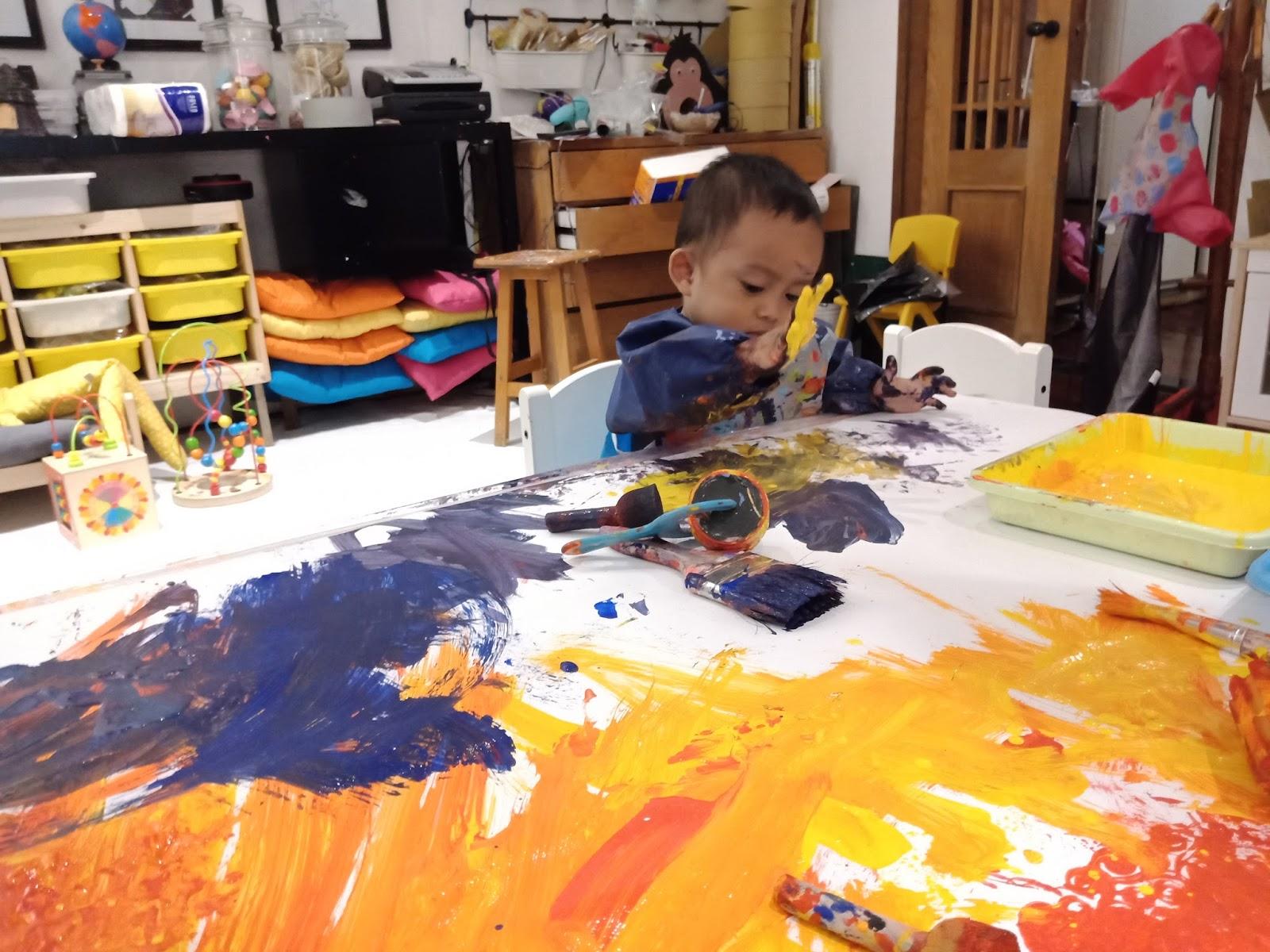Manfaat Permainan Finger Painting Untuk Anak Usia Dini | Anggraeni Septi