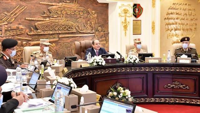 الرئيس السيسي يحضر إختبارات كشف الهيئة لطلبة الكليات والمعاهد العسكرية الجدد