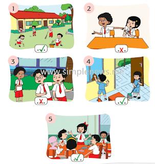 Berikan centang (✓) yang sesuai sila kedua Pancasila! www.simplenews.me