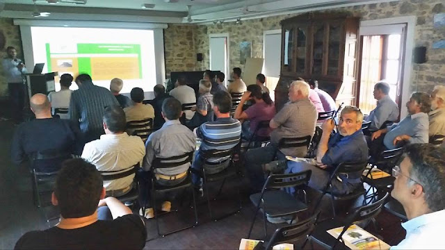 Με επιτυχία πραγματοποιήθηκε το Σεμινάριο Ελαιοκομίας στη Σαμοθράκη