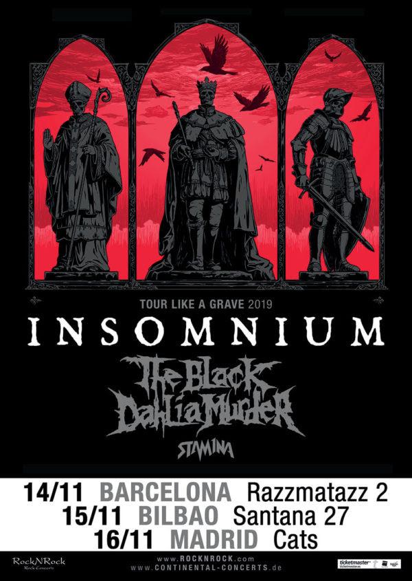 Insomnium Spanish Tour