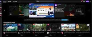 Aplikasi Streaming Game