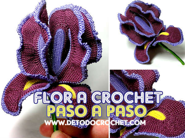 flor-lirio-crochet