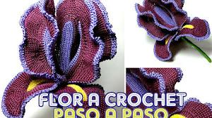 Cómo tejer flor a crochet / Paso a paso