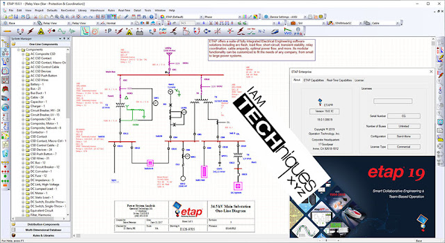 Download Operation Technology ETAP 2019.v19.0.1