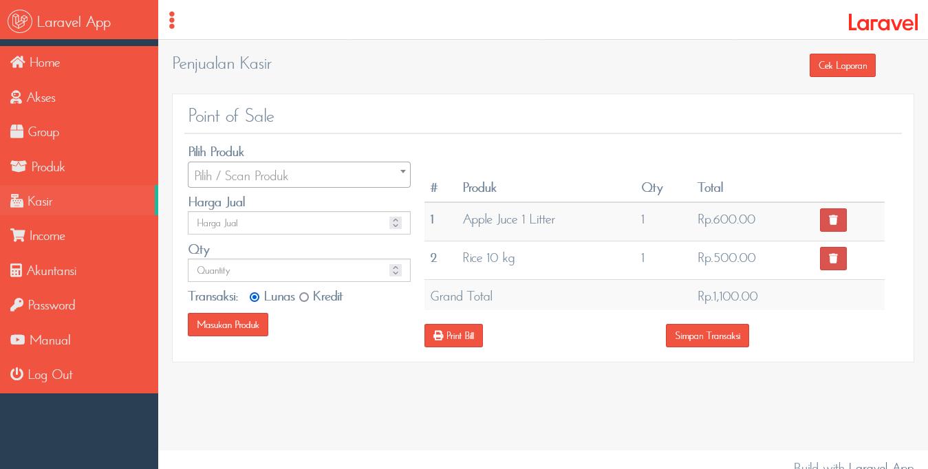 aplikasi kasir penjualan toko terbaru