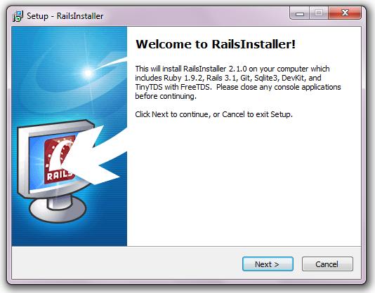 Belajar Ruby on Rails: Install Ruby on Rails di Windows