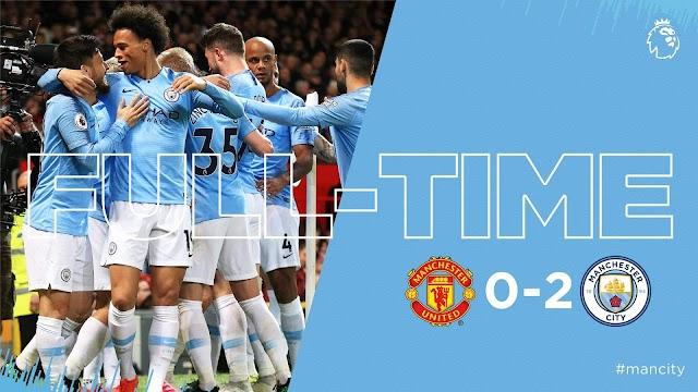 Manchester United vs Manchester City 0-2 Highlights & All Goals - Torixus