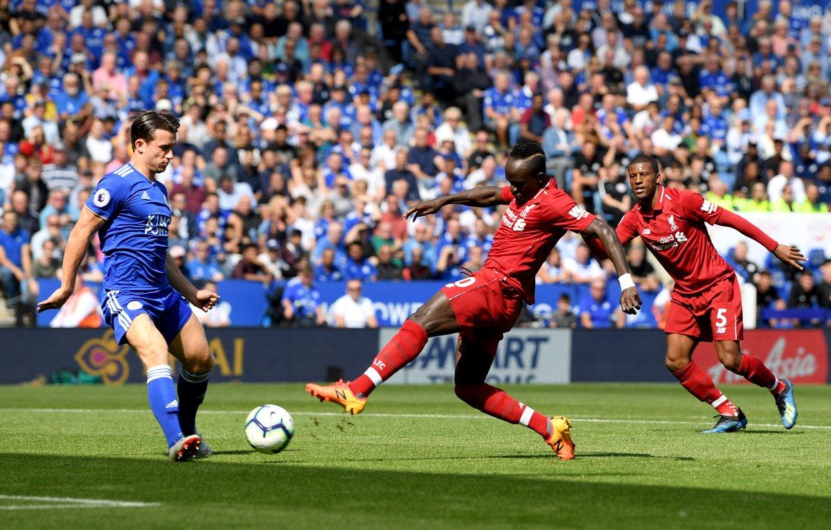 نتيجة مباراة ليفربول وليستر سيتي بتاريخ 05-10-2019 الدوري الانجليزي