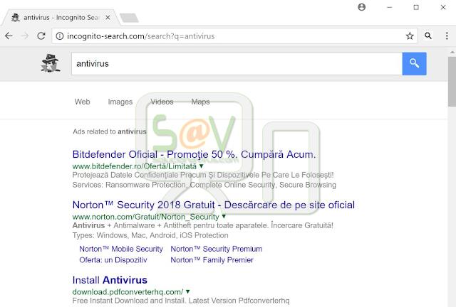Incognito-search.com (Redirecciones)