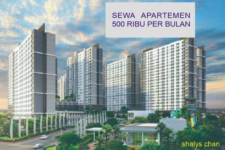 Sewa Apartemen 500 Ribu Per Bulan