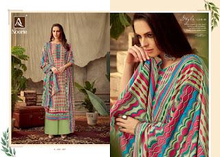 Alok Suits Noorie Pashmina  Salwar Kameez Collection
