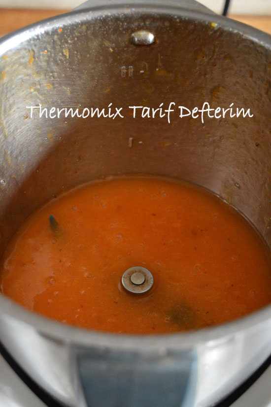 Persimmon Marmalade with Thermomix