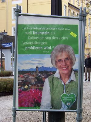 Christa Fuchs zur Landesgartenschau Traunstein