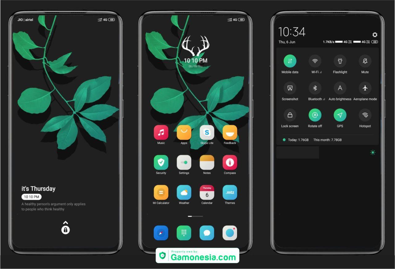 tema ios11 MIUI keren banget tembus semua aplikasi terbaik 2018